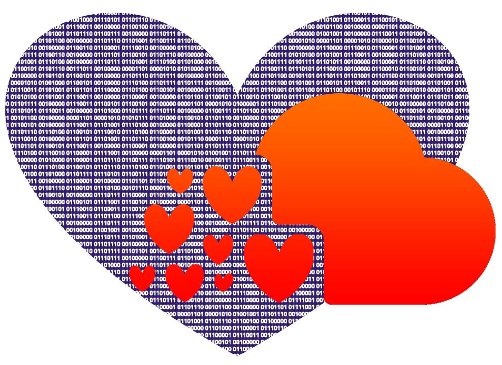 love data month logo